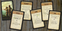 Robinson Crusoe: Adventure on the Cursed Island - Trait Cards I