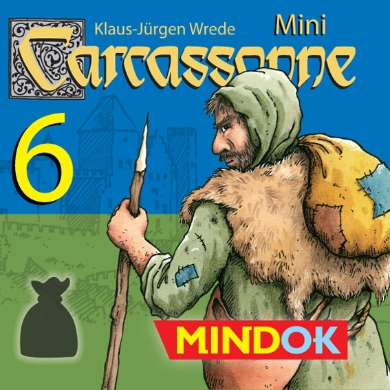 Carcassonne Mini - #6 Bandyci
